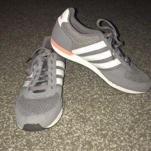 Grey Adidas Neo sneakers